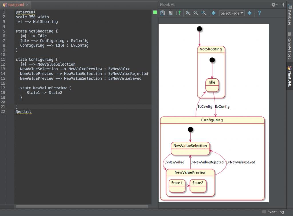 Intellij IDEAでPlant UMLを使えるようにする。 · Androg